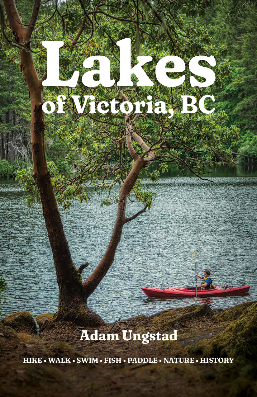 Cover of Lakes of Victoria, BC.